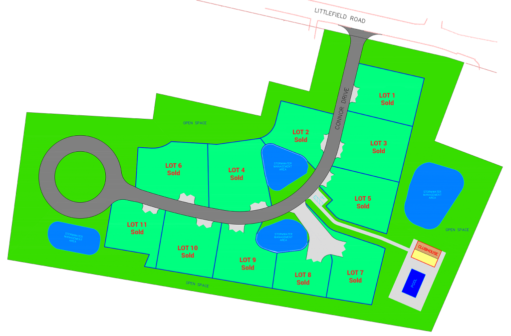 Ocean Mist Village Site Plan