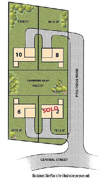 Pine Ridge Meadows site plan