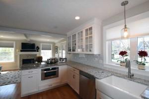 Seal Harbor Gray Kitchen Design
