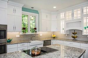 Seal Harbor Teal Kitchen Design