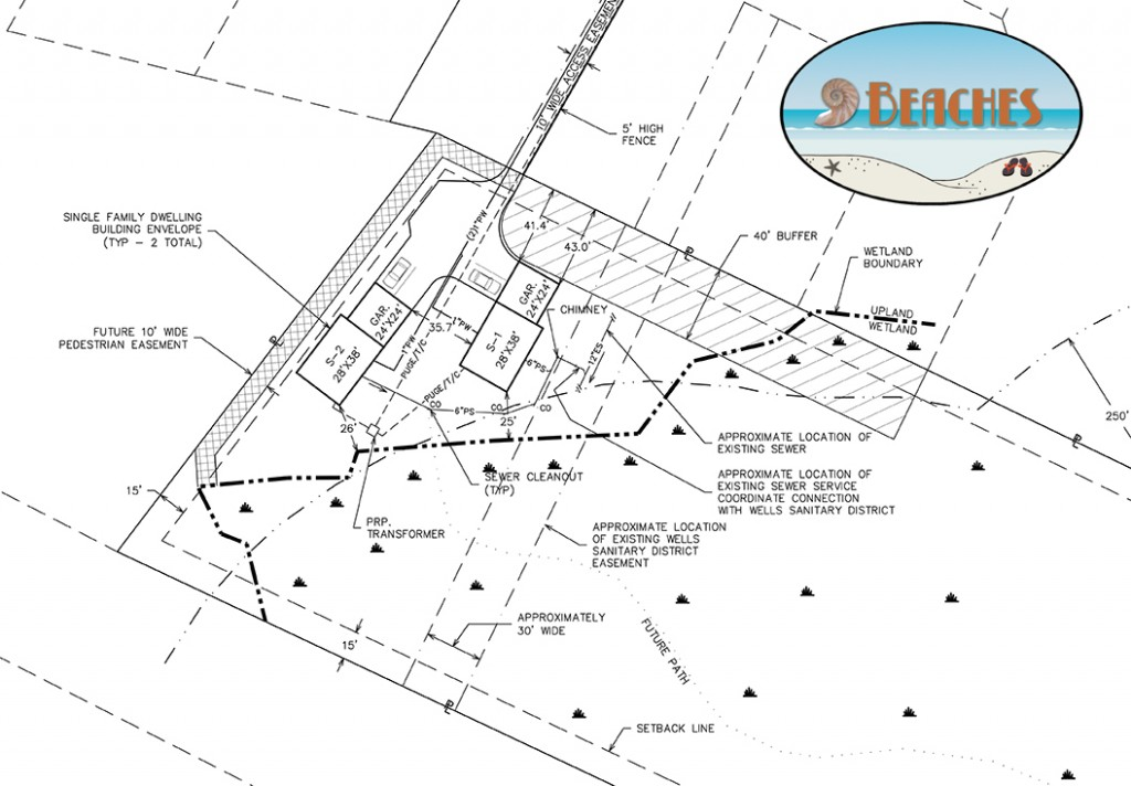9 Beaches Lot Plan