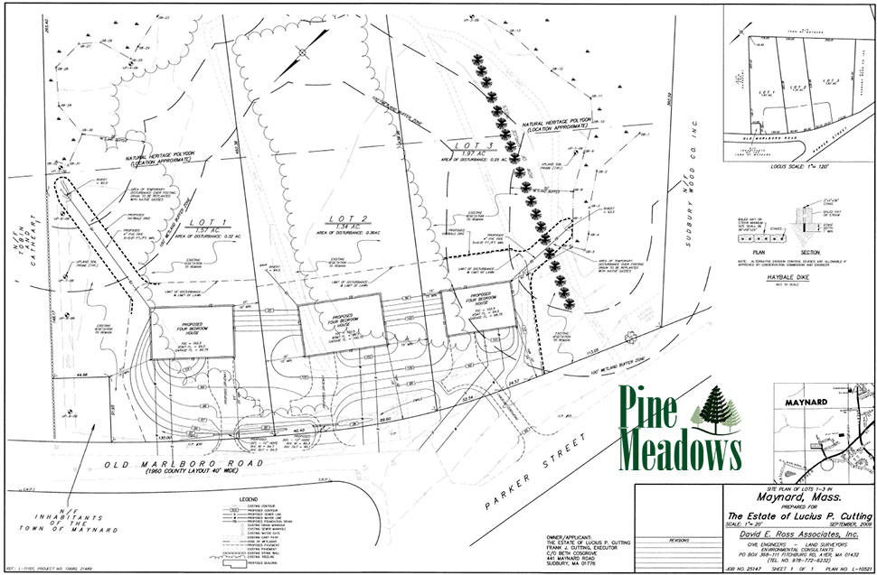Pine Meadows Site Plan