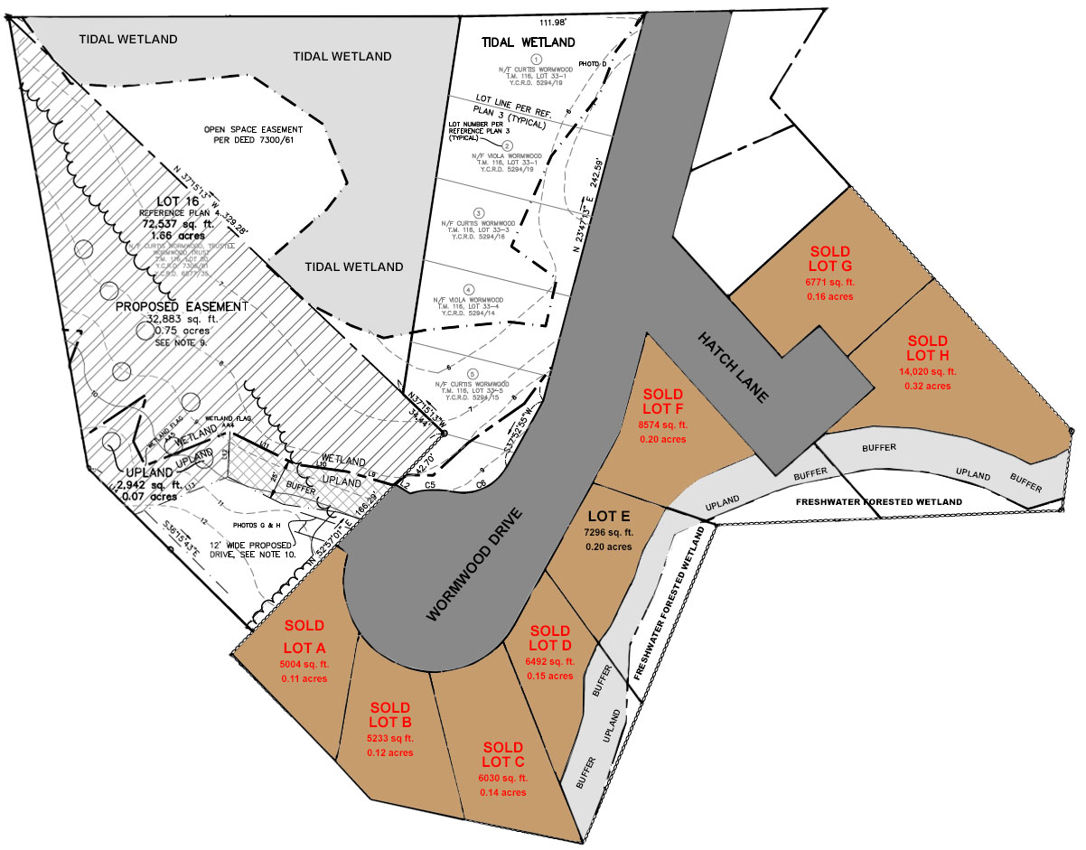 Topsail Homes Site Plan