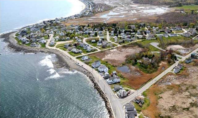 Topsail Homes - Aerial View 2